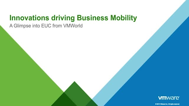 The Latest in Business Mobility Straight from VMworld
