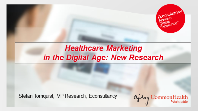 Healthcare Marketing in the Digital Age: New Research