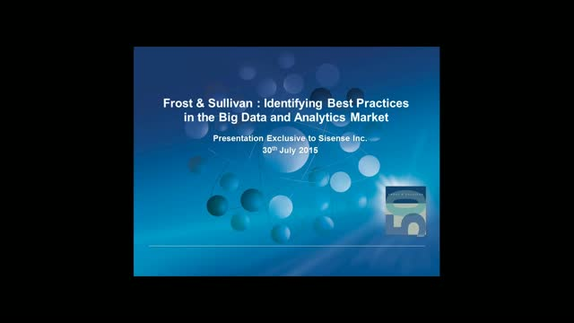 How to Select a Business Intelligence Vendor [Frost Sullivan 2015 Report]