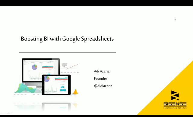 Spice Up Your Spreadsheets: Boosting BI With Google Spreadsheets