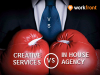 Creative services vs. In-house agency: Should you make the switch?