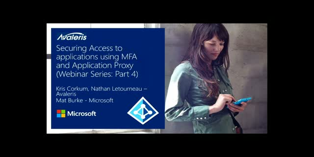 Securing Access To Education Apps With MFA & Application Proxy