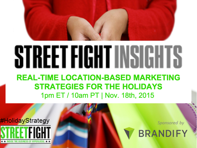 Real-Time Location-Based Marketing Strategies for the Holidays