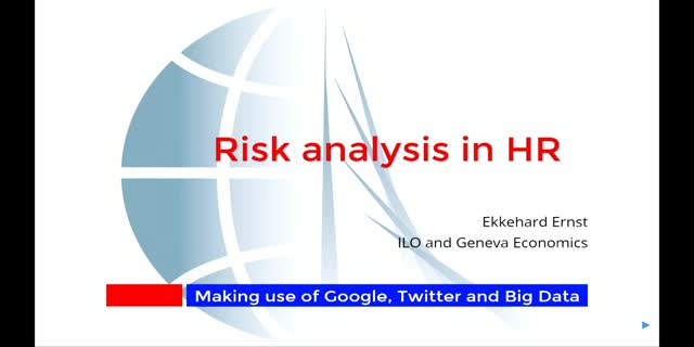 Risk Analysis in HR: Making use of Google, Twitter and Big Data