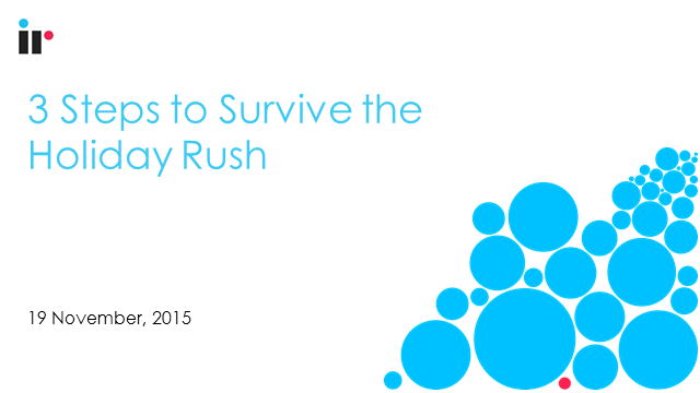 Contact Center: 3 Steps to Survive the Holiday Rush