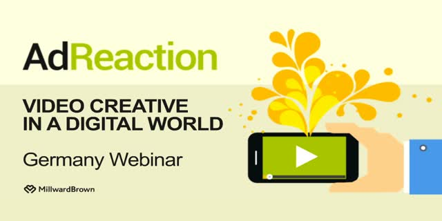 AdReaction - Video Creative in a Digital World