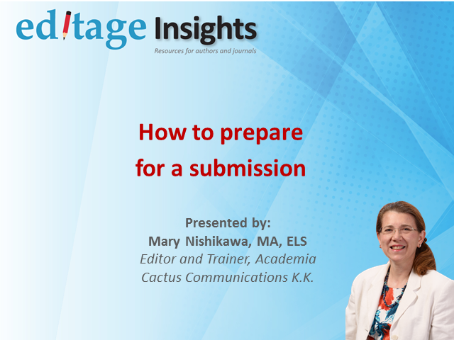 How to prepare for a submission