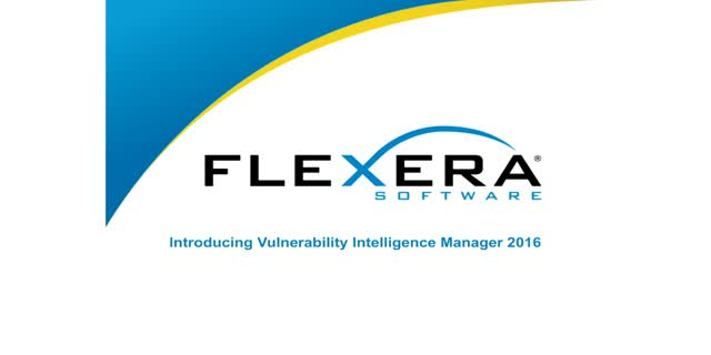 Introducing Vulnerability Intelligence Manager 2016!