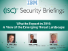 What to Expect in 2016: A View of the Emerging Threat Landscape