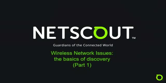 Wireless Network issues: the basics of discovery (Part 1)