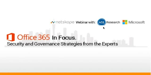 Office 365 In Focus: Security Strategies from the Experts