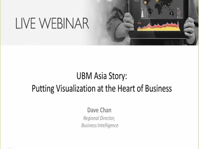 Putting Visualization at the Heart of Business