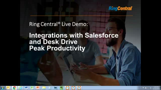 RingCentral Live: Integrations with Salesforce and Desk Drive Peak Productivity