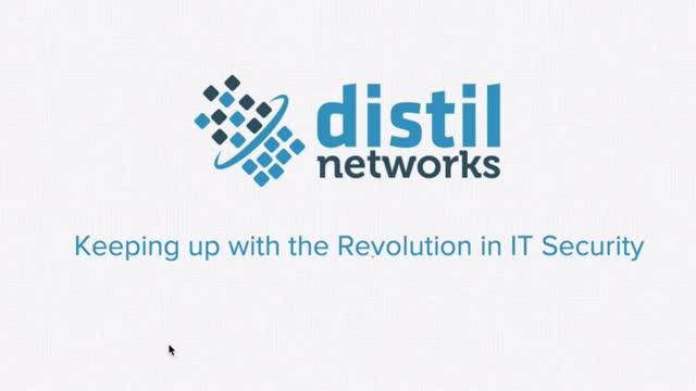 Keeping Up with the Revolution of IT Security