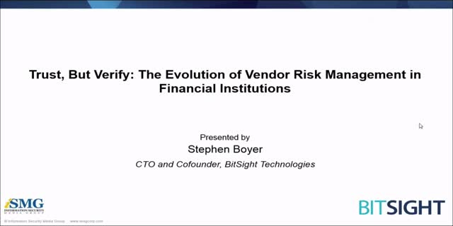 Trust, But Verify: The Evolution of Vendor Risk Management in Finance