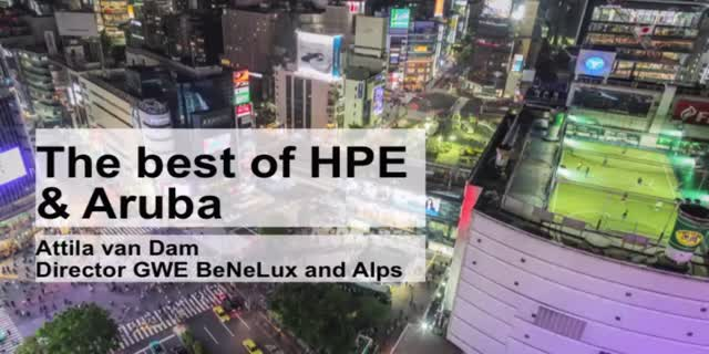 The Best of Hewlett Packard Enterprise & Aruba