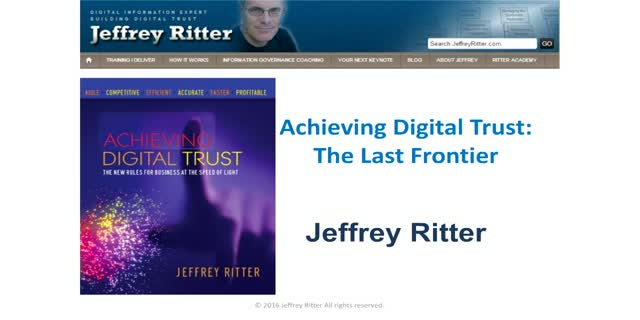 Achieving Digital Trust: The Final Frontier