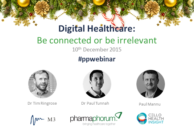 Digital healthcare: be connected or be irrelevant