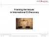 Framing the Issues in International E-Discovery