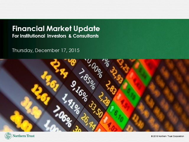Financial Market Update Webinar for Institutional Investors and Consultants
