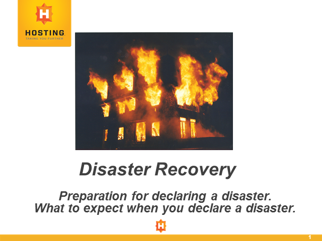 Disaster Recovery: What to Expect When You Declare a Disaster