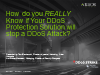 How do you REALLY Know if Your DDoS Protection Solution will stop a DDoS Attack?
