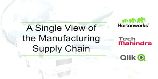 A Single View of the Manufacturing Supply Chain