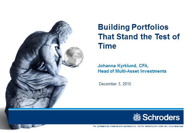Building Portfolios That Stand the Test of Time