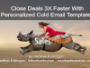 Close Deals 3X Faster With Personalized Cold Email Templates
