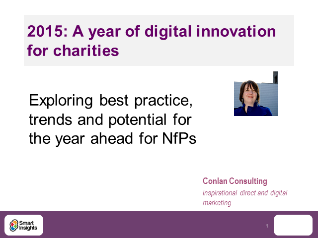 2016: A year of digital innovation for charities