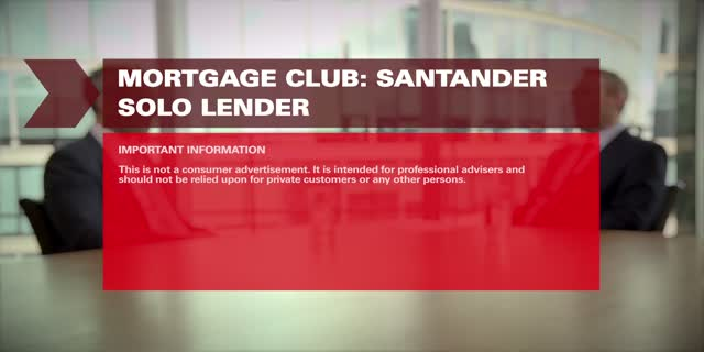 Mortgage Club Q4 2015 : Santander