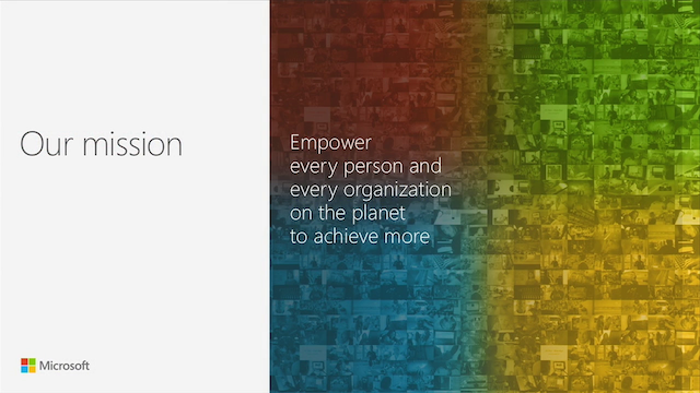 Microsoft Mission and Strategy