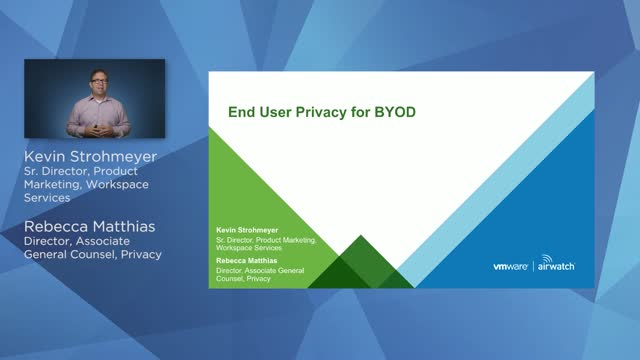 End User Privacy for BYOD