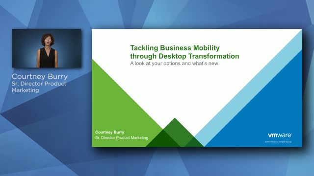Tackling Business Mobility through Desktop Transformation