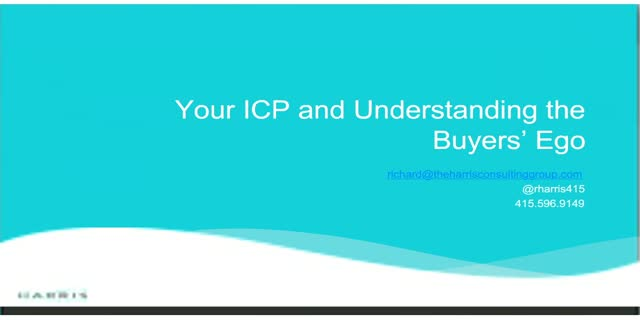Your ICP and Understanding the Buyers' Ego