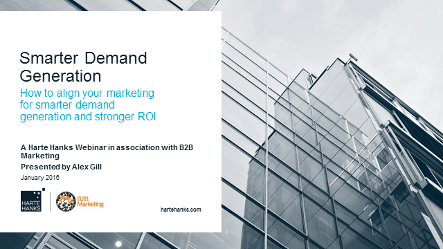 How to align your marketing for smarter demand generation and stronger ROI