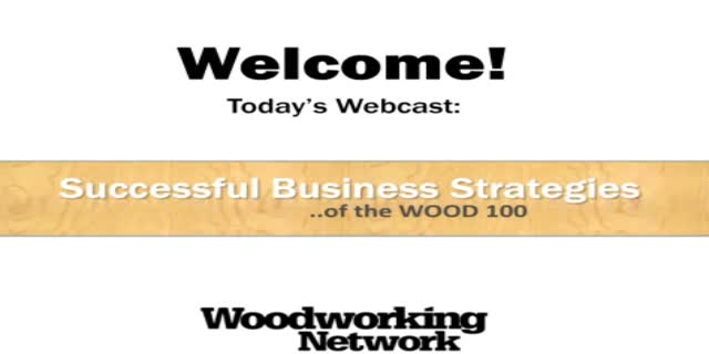 Successful Business Strategies of the WOOD 100