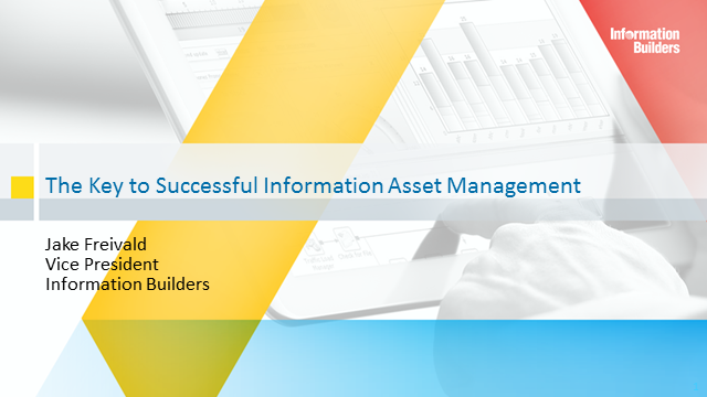 The Key to Successful Information Asset Management