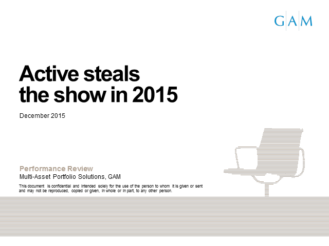 Active steals the show in 2015 and Outlook for 2016