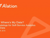 Dude, Where's My Data? Data Catalogs for Self-Service Analytics on Big Data