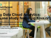 Big Data Cloud Analytics: A case study featuring Kiva.org