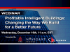 Profitable Intelligent Buildings: Changing the Way We Build for a Better Future