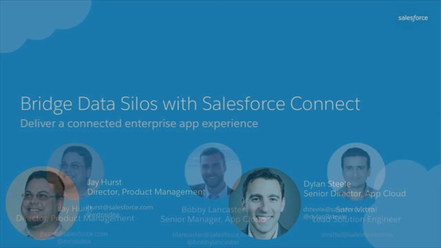Bridge your Data Silos with Salesforce Connect