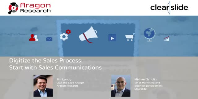 Digitize the Sales Process: Start with Sales Communications