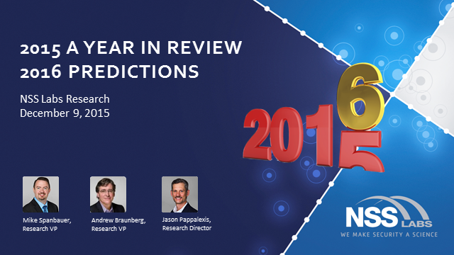 NSS Labs' 2016 Information Security Predictions
