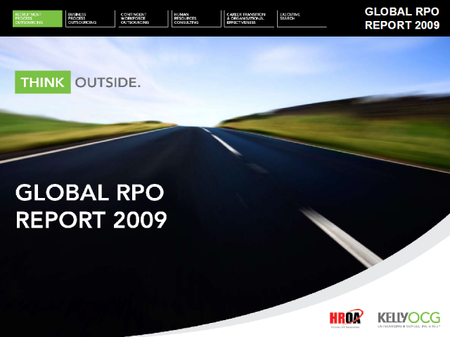 RPO in 2009 - The Global RPO Report