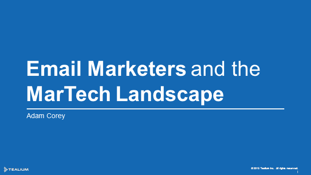 Why Email Marketers Will Inherit the Marketing Landscape