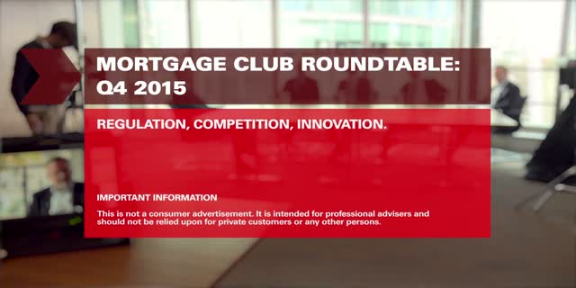 Mortgage Club Q4 Roundtable : Regulation, Competition, Innovation