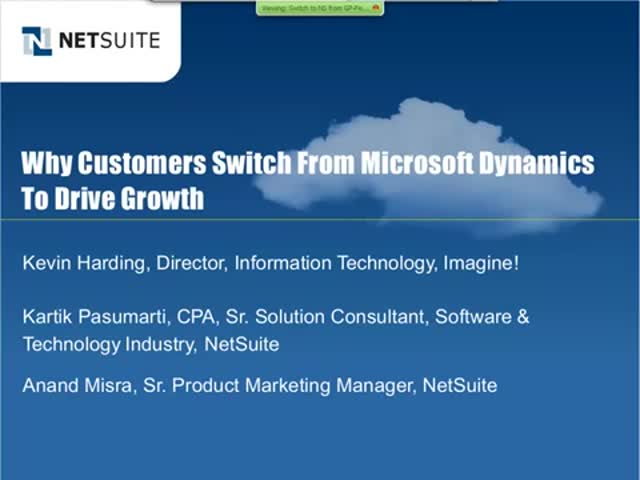 Why Customers Switch from Microsoft Dynamics to Drive Growth