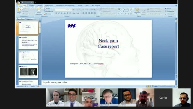 Neck Pain in Undetected Metastasis of Lung Adenocarcinoma
